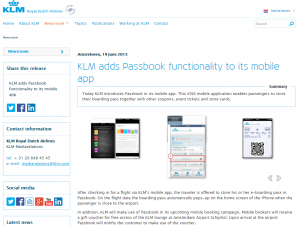 KLM-adds-passbook-functionality